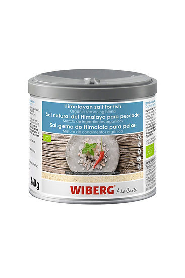WIBERG Himalayan salt 460g for fish season only