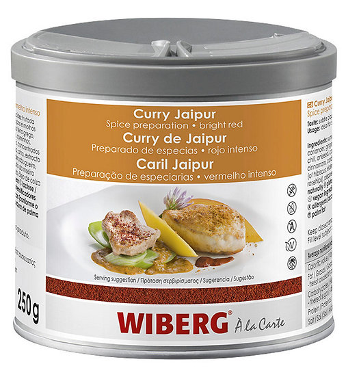 WIBERG Curry jaipur bright red 250gr only