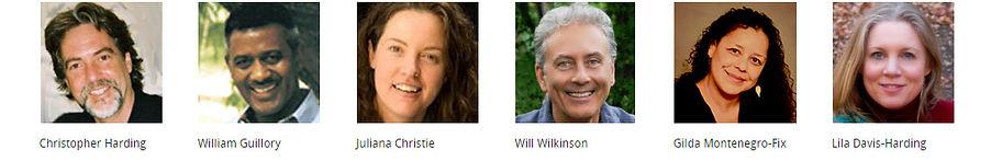 Christopher Harding, William Guillory, Julianna Christie, Will Wilkinson, Gilda Montenegro-Fix, Lila Davis Harding