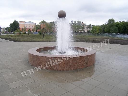 фонтан Камень