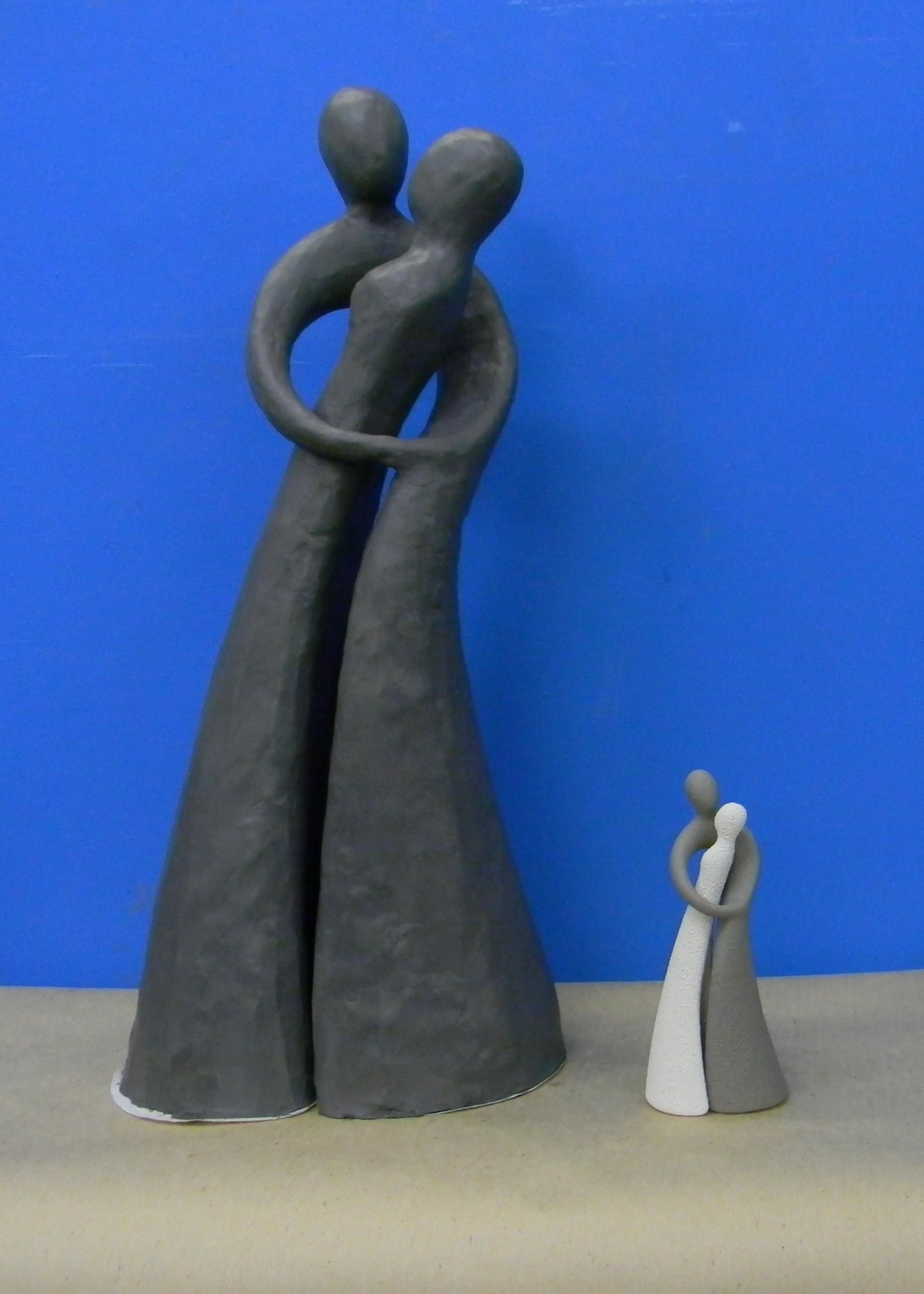 модель скульптуры из мягкого материа