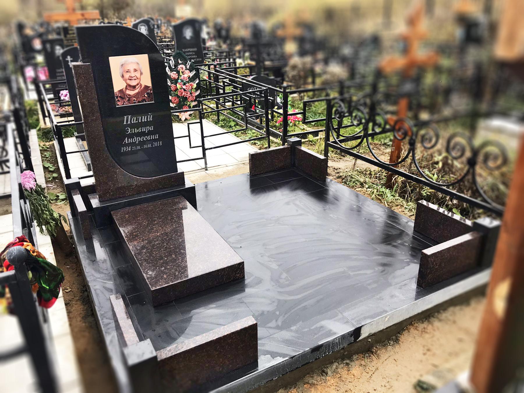 """Комбинированный памятник """"Дуэт"""""""