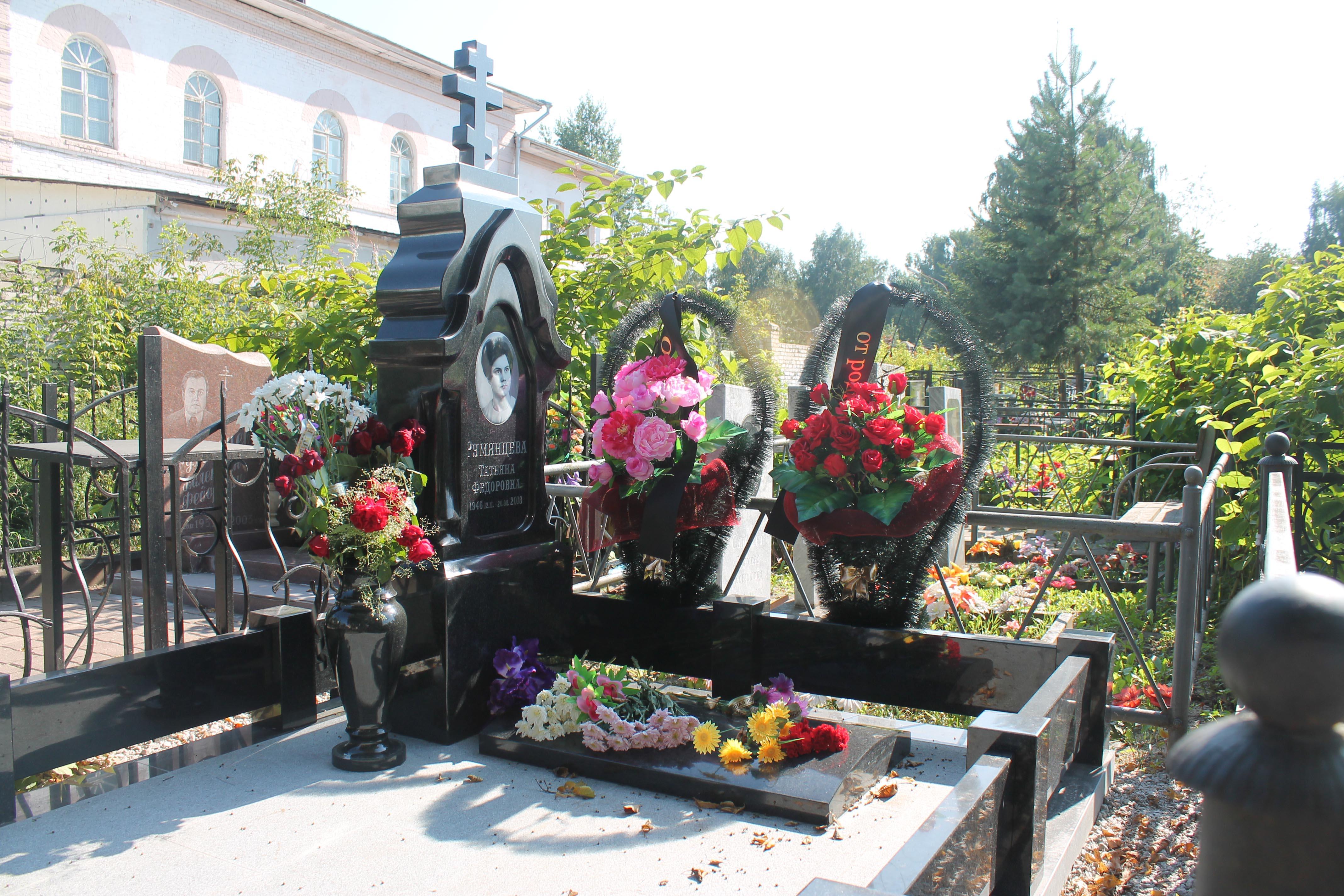 """Памятник в купеческом стиле """"Анисья"""""""