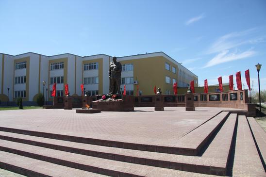 Мемориал ВОВ. с. Торбеево