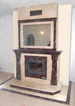 Реконструкция камина