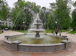 Фонтан в сквере г. Рыбинск