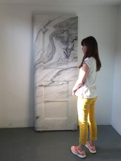 Дверь из мрамора (2)