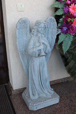 """Скульптура """"Ангел""""."""