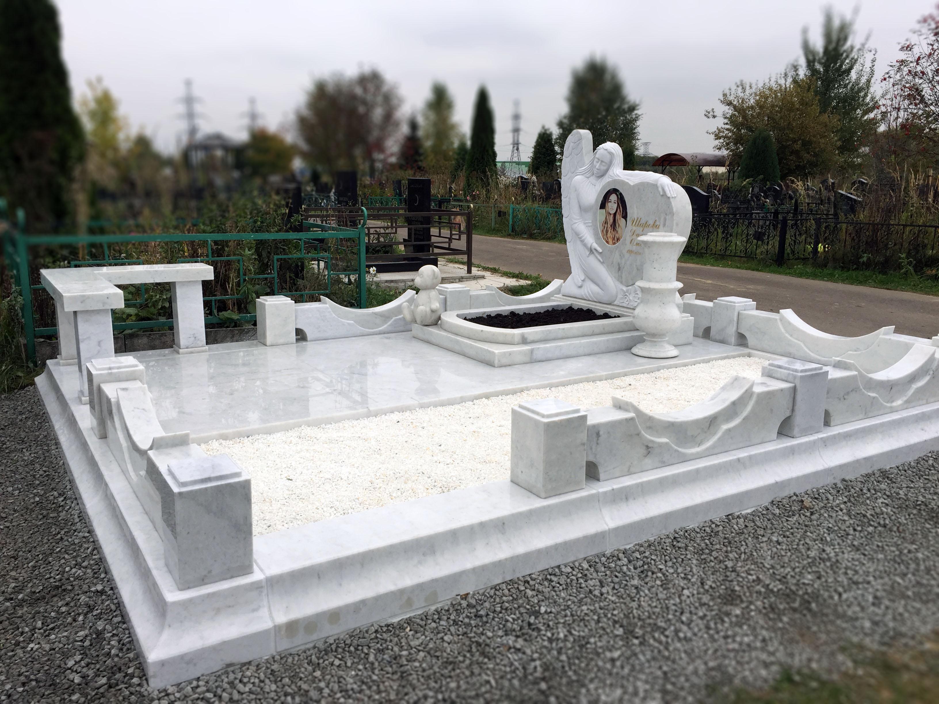 """Мемориальный комплекс """"Белый Ангел"""""""