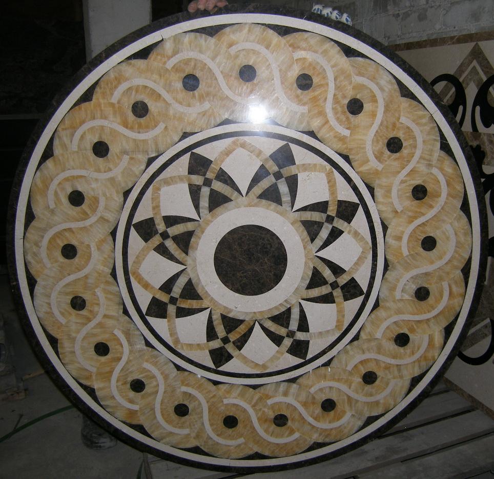 мраморная розетка BR 077