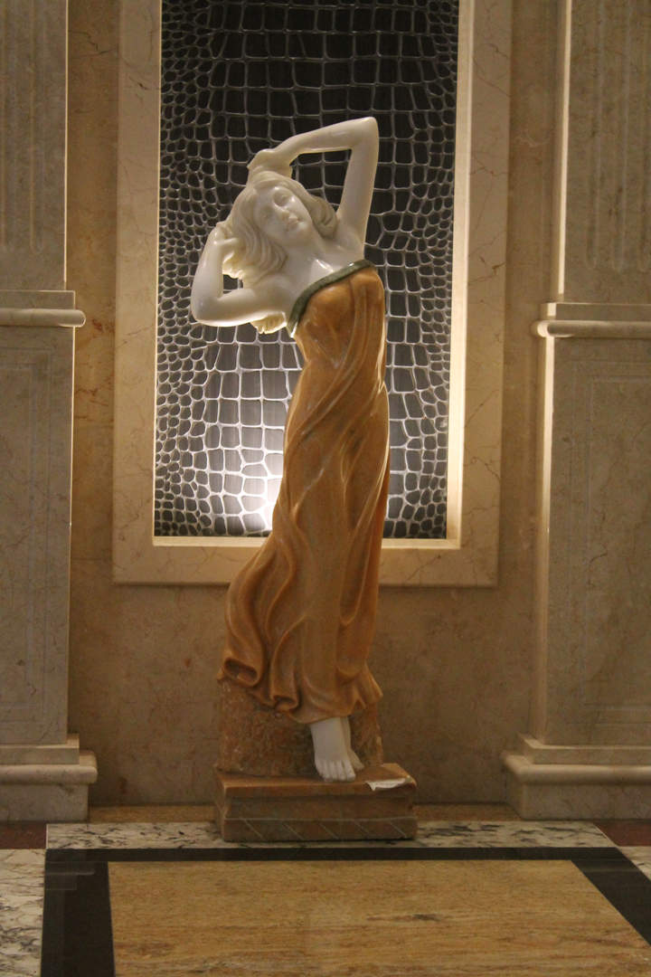 Скульптура из мрамора.