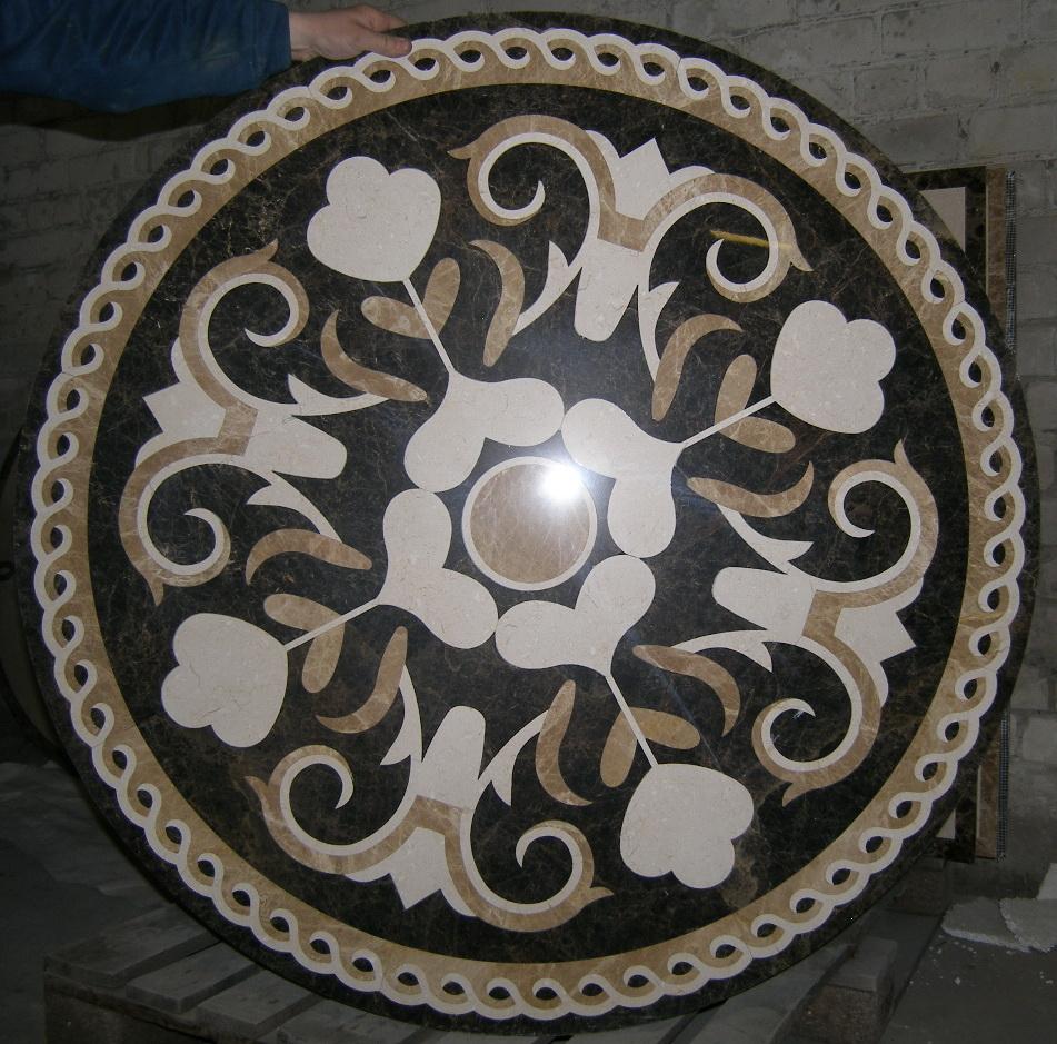 мраморная розетка  BR 022