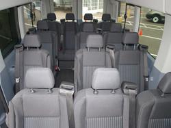 12-15 Passenger Van inside