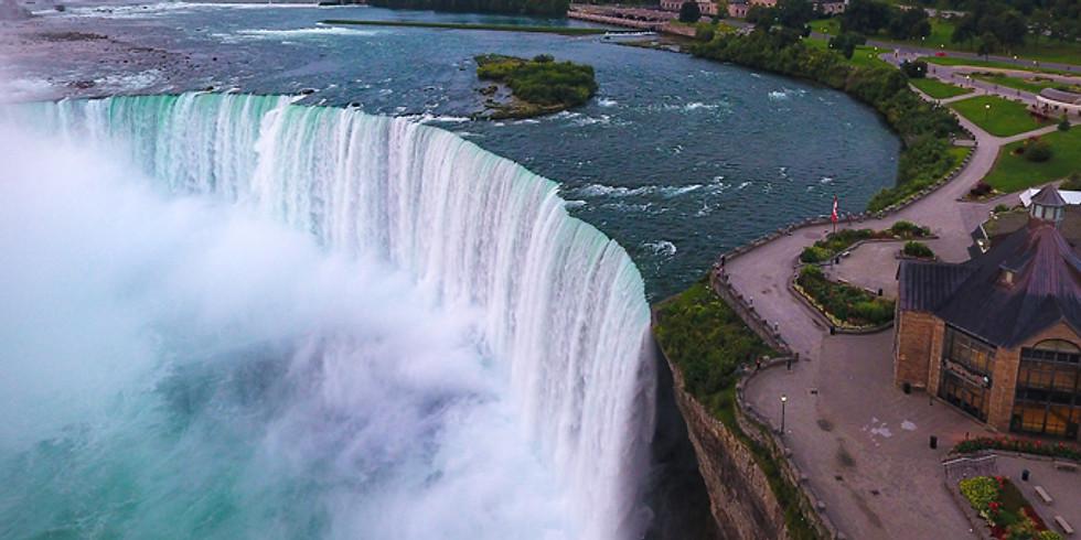 One of Seven World Wonders - Niagara Falls New York