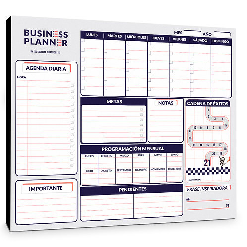 Business Planner - Tablero Organizador