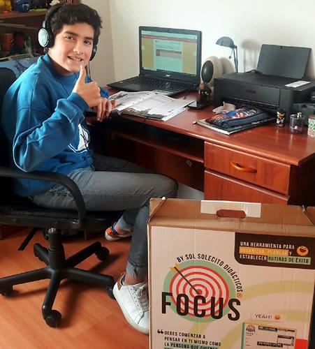 Focus: Organizador para Jóvnes