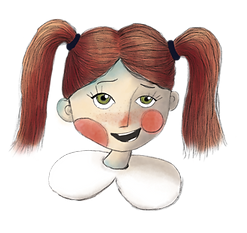 LuLu, the main character in the children's story book