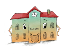 The School, LuLu's Pal in the children's story book