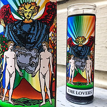 Gay Lovers Spell Candle