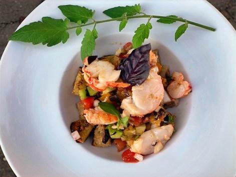 Lobster Panzanella