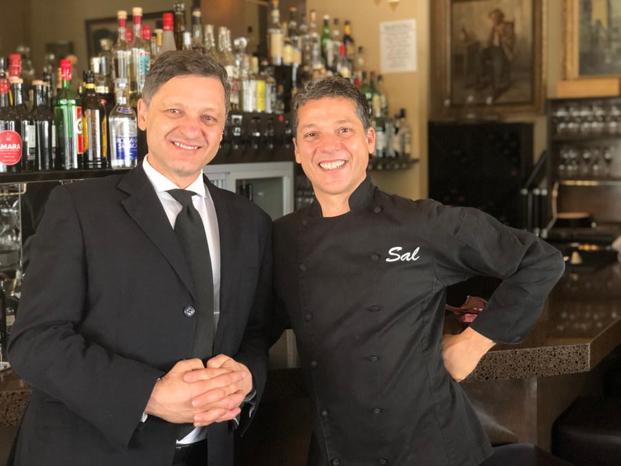 Mario and Sal Marino