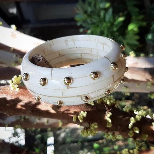 Bracelete em Osso