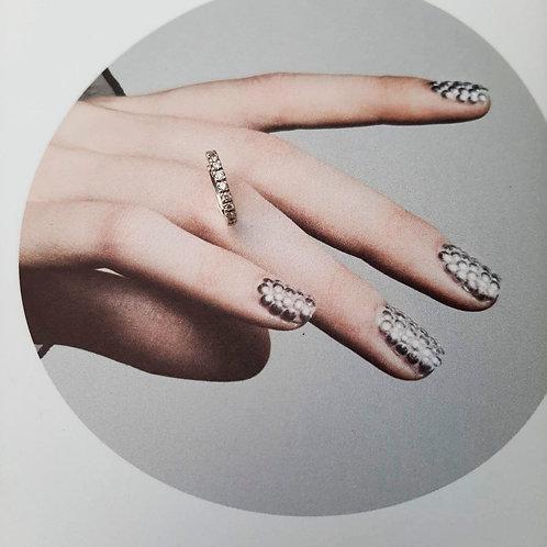 Argola Clip com Diamantes (par)