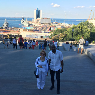 DHoM and Odessa LTO on Potemkin Stairs.J
