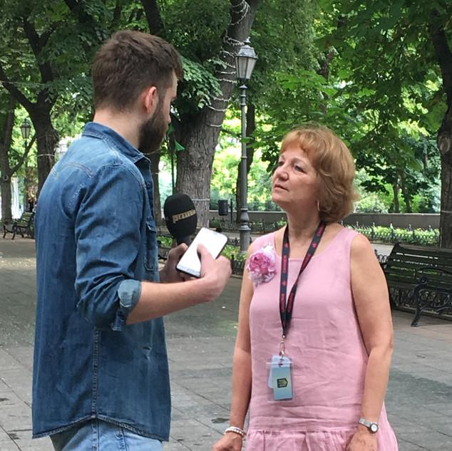 Interview A1 TV Channel Odessa.JPG