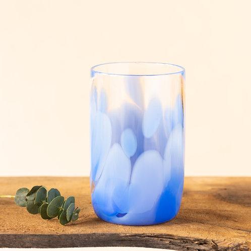 "Blumenvase ""Mono"", Lavender X Softblue"