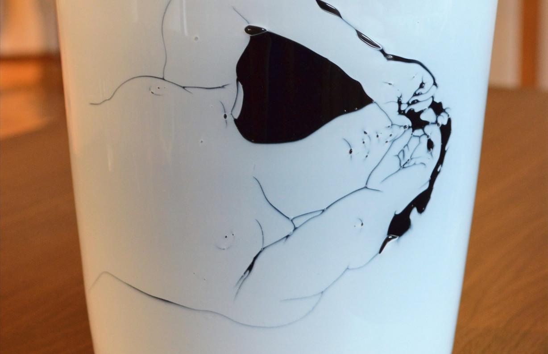 """Graalglas """"Eva"""", 2. Platz 10. Internationaler Glaskunstpreis der Stadt Rheinbach"""
