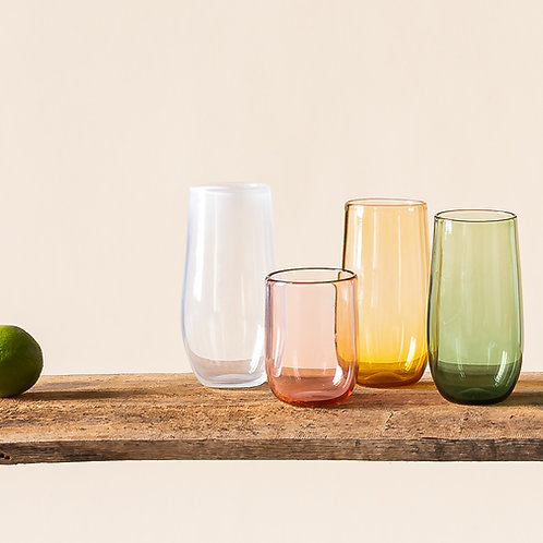 "Trinkglas ""Pear"", groß."