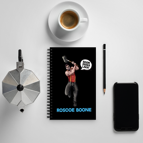 Roscoe Boone - Spiral Notebook