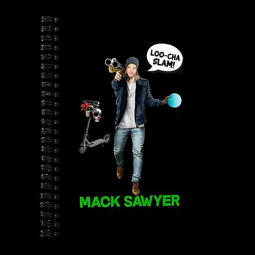Mack Sawyer - Spiral Notebook