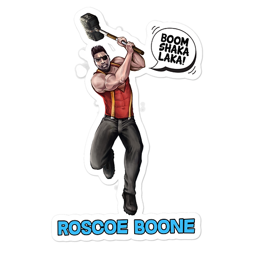 Roscoe Boone Stickers