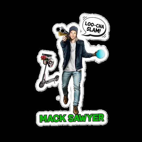 Mack Sawyer Stickers