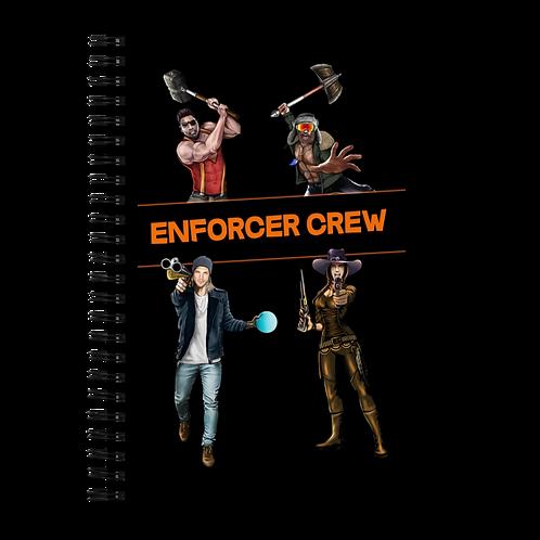 Enforcer Crew - Spiral Notebook