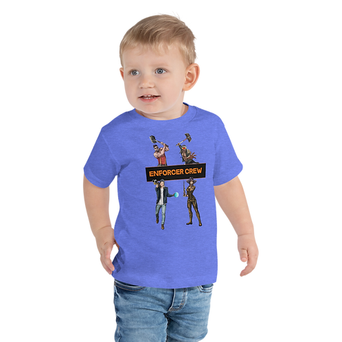 Enforcer Crew Toddler Tee - Short Sleeve