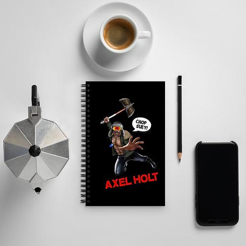 Axel Holt - Spiral Notebook
