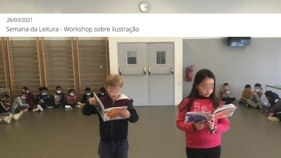 Semana da Leitura: Workshop sobre ilustração