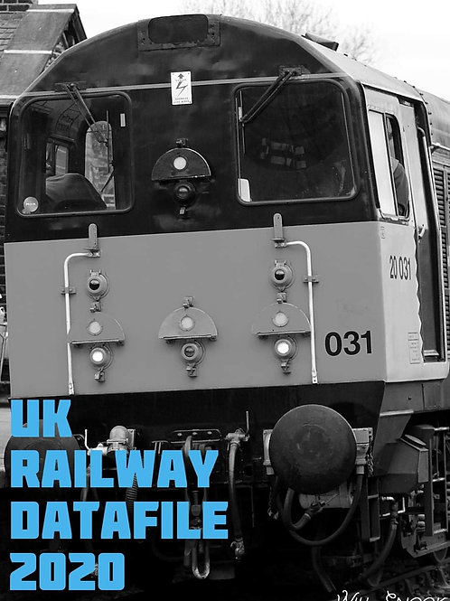 UK Railway Datafile 2020 A4
