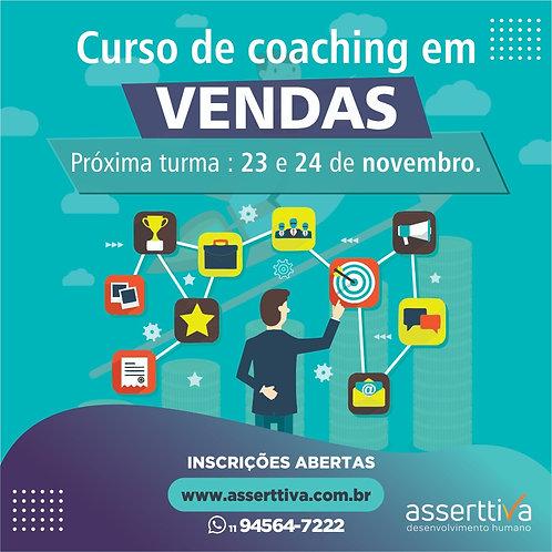 Curso de Coaching em Vendas - 2º LOTE