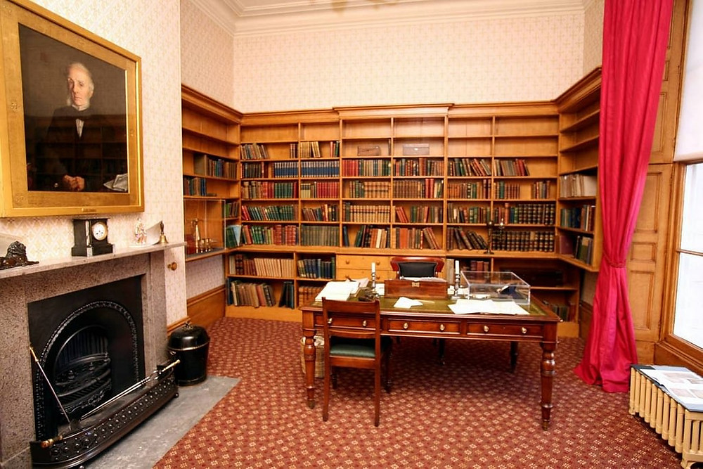 Elizabeth Gaskell's House museum in Manchester