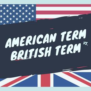 美式英語 vs. 英式英語