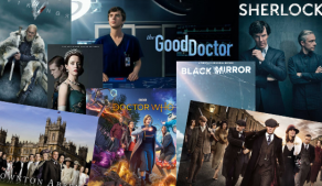 Top 10 TV Series to learn English with.