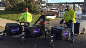 Delivering difference: Mailing Services uses e-bikes to move mail at UW