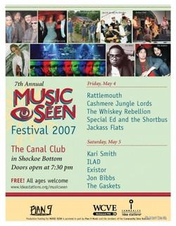 2007 Music Seen Festival