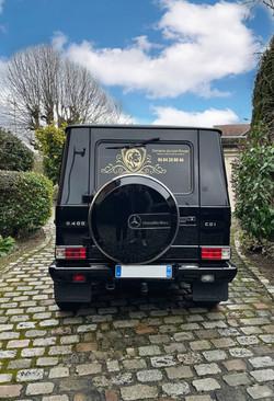 Marquage véhicule Domaine du Lion Rrouge