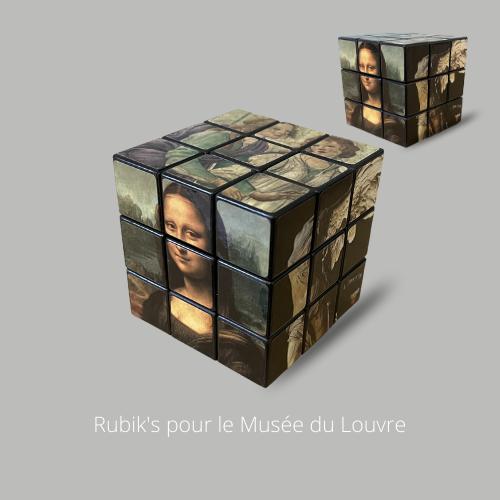 Rubik's pour le Musée du Louvre