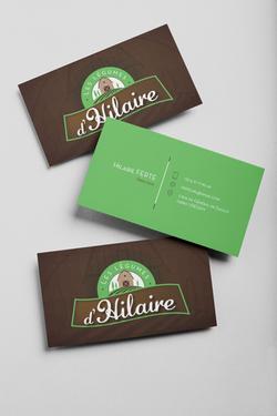Cartes de visite Les légumes d'Hilaire
